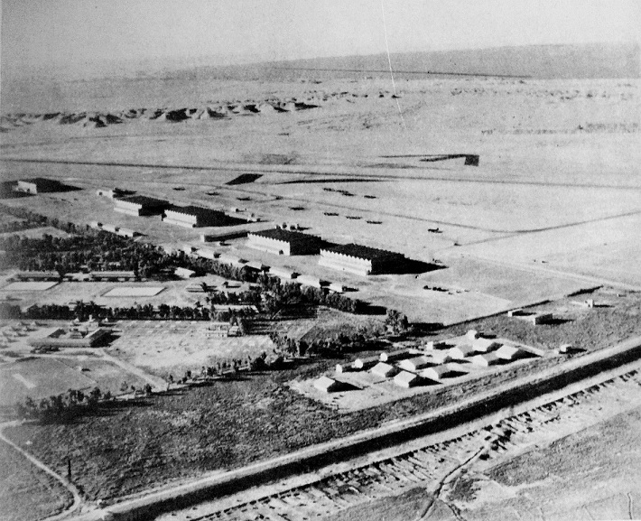 RAF airfield at Habbaniya, Iraq, 1941 (British Army photo)