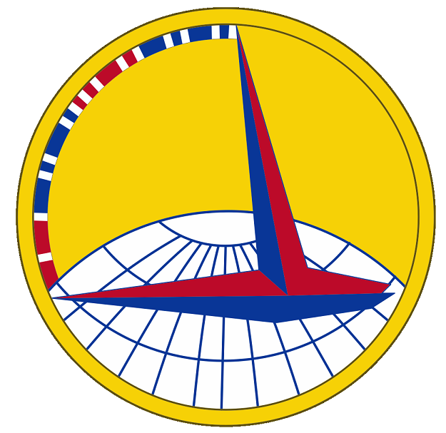 Badge approved for the US Army Air Corps Ferrying Command, 14 Nov 1941 (US Army Institute of Heraldry)