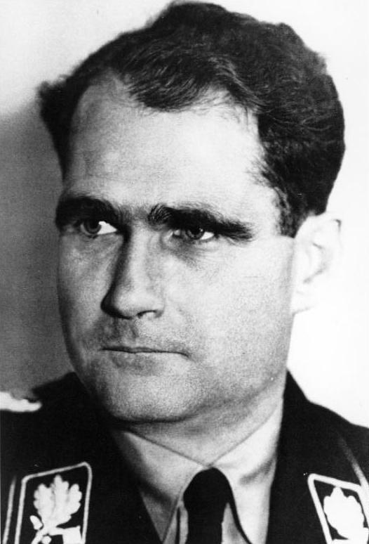 Rudolf Hess, 1933 (German Federal Archives, Bild 146II-849)