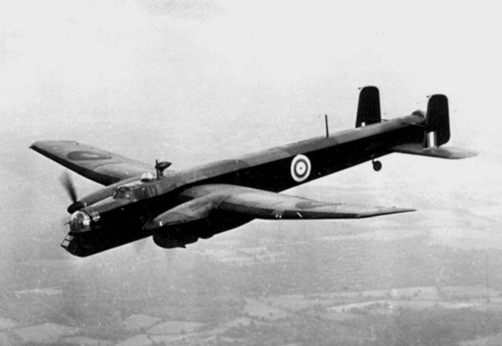 RAF Armstrong Whitworth Whitley bomber, circa 1940 (United Kingdom government photo)