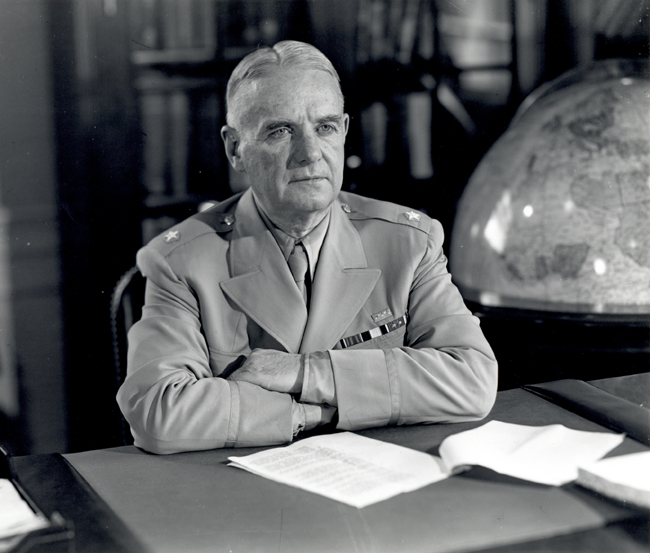"""William """"Wild Bill"""" Donovan as head of the US Office of Strategic Services (OSS), 1945 (US National Archives: 6851006)"""