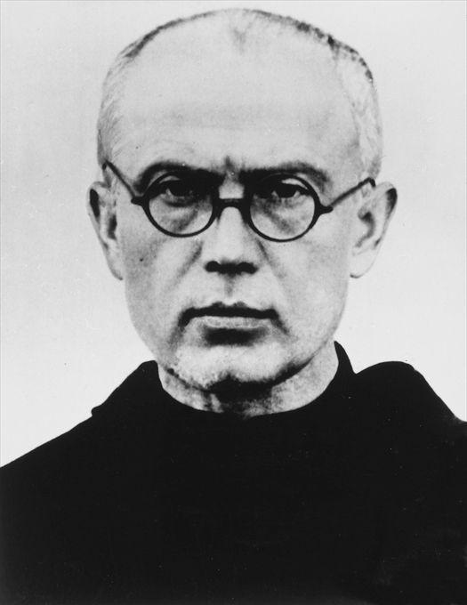 Fr. Maximilian Kolbe, 1939 (public domain via Wikipedia)