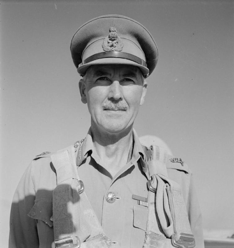 Lt. Gen. Sir Alan Cunningham when commanding the British Eighth Army in the Western Desert (Imperial War Museum: E 6661)