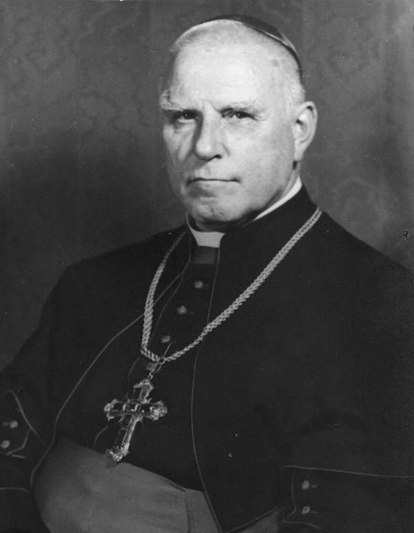 Clemens August Graf von Galen upon his appointment as cardinal, 1946 (Creative Commons via Bildersammlung des Bistumsarchivs Münster)