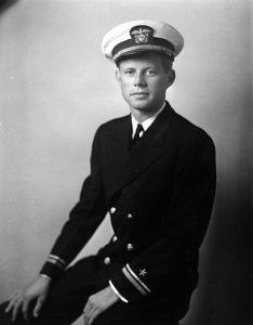 Lt. (jg) John F. Kennedy, 1942 (John F. Kennedy Presidential Library, public domain)