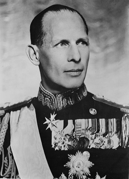 King George II of Greece, 1942 (Library of Congress: fsa.8e00859)