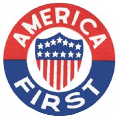 Logo of isolationist America First Committee, 1940-41