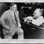 Franklin D. Roosevelt and Fiorello La Guardia in Hyde Park, 1938 (US National Archives)