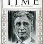 US Supreme Court Louis Brandeis on the cover of Time Magazine, 19 Oct 1925 (public domain via Wikipedia)