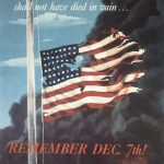 US poster commemorating Pearl Harbor, 1942