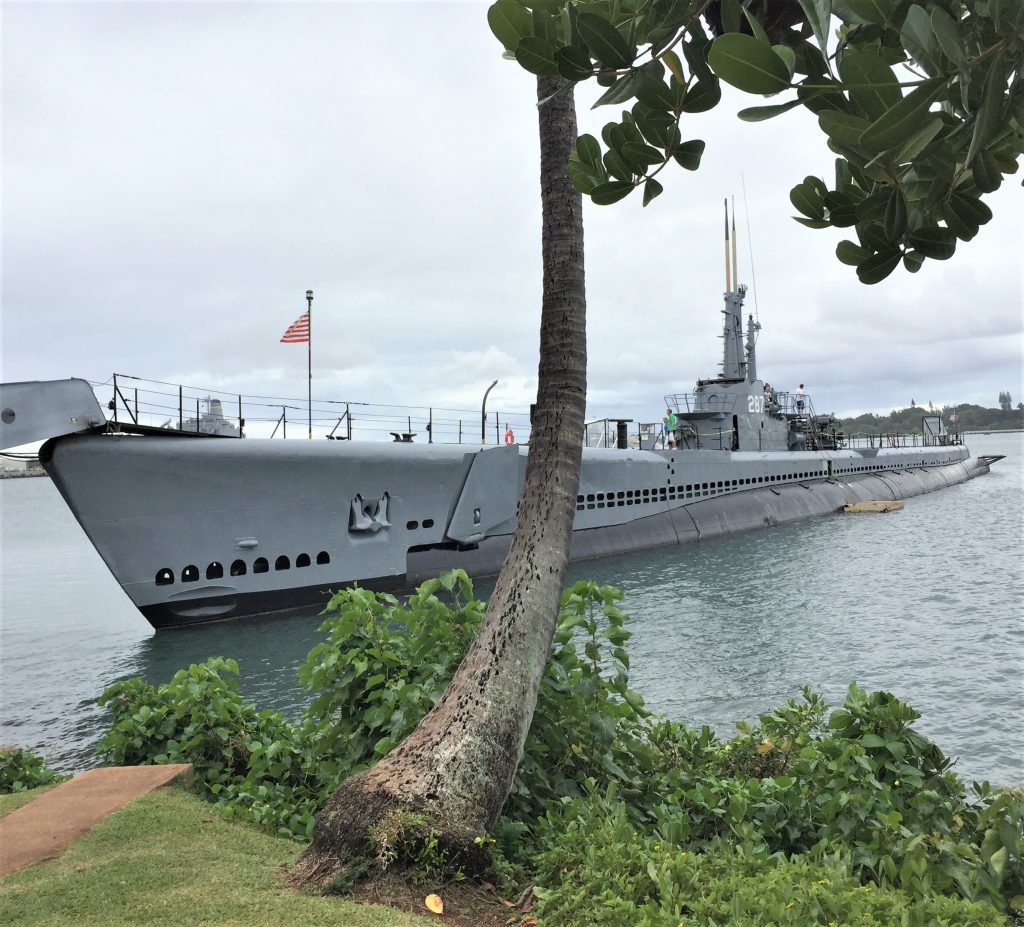 Submarine USS Bowfin, Pearl Harbor (Photo: Sarah Sundin, 7 Nov 2016)