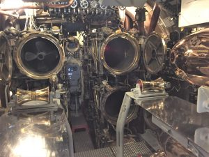 Torpedo tubes on the USS Bowfin, Pearl Harbor (Photo: Sarah Sundin, 7 Nov 2016)