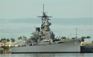 Battleship USS Missouri, Pearl Harbor, Hawaii (Photo: Dave Sundin, 7 Nov 2016)