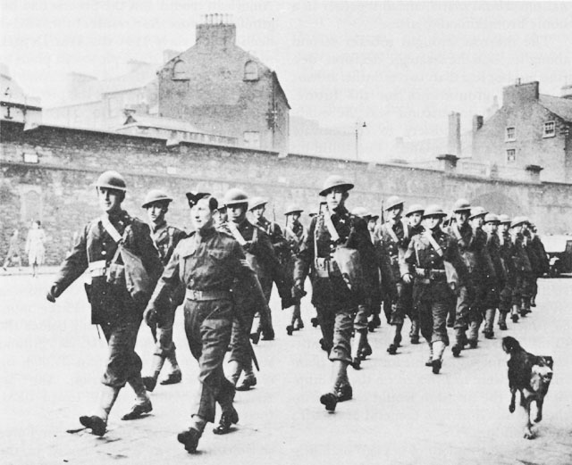 US Army troops in Northern Ireland, 1942 (US Army Center of Military History)
