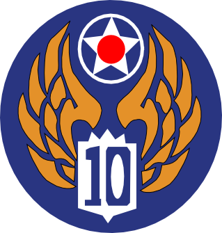 Patch of the US Tenth Air Force