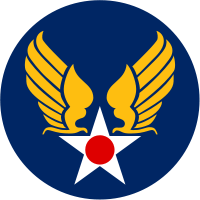 US Army Air Forces patch, WWII