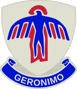 Insignia of the US 501st Parachute Infantry Regiment