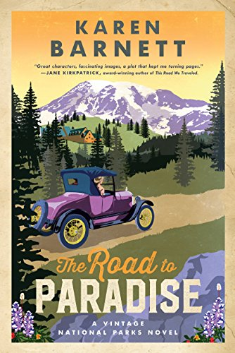 A story as invigorating, inspiring, and perilous as Mount Rainier itself! The Road to Paradise by Karen Barnett pulled me in with humor and fascinating characters and a delicious romance, then kept me up late as Ford and Margie strive to save the national park that seems determined to kill them. The author's experiences as a park ranger give this novel both authenticity and passion, and I can't wait for the next book in the series!