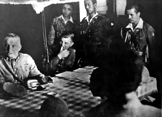 Hein ter Poorten surrendering to the Japanese, Kalidjati, Java, Dutch East Indies, 8 Mar 1942 (public domain via WW2 Database)