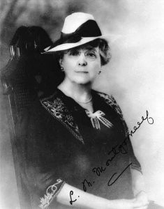 Lucy Maud Montgomery, 1930s (Library and Archives, Canada)