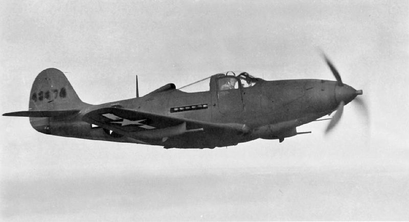 Bell P-39Q Airacobra, 1940s (USAAF photo)