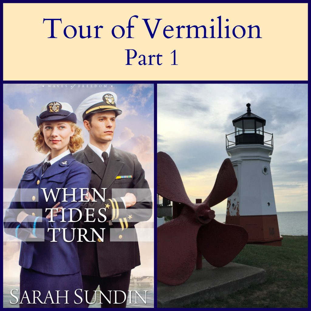 See the sights in Vermilion, Ohio featured in When Tides Turn by Sarah Sundin.