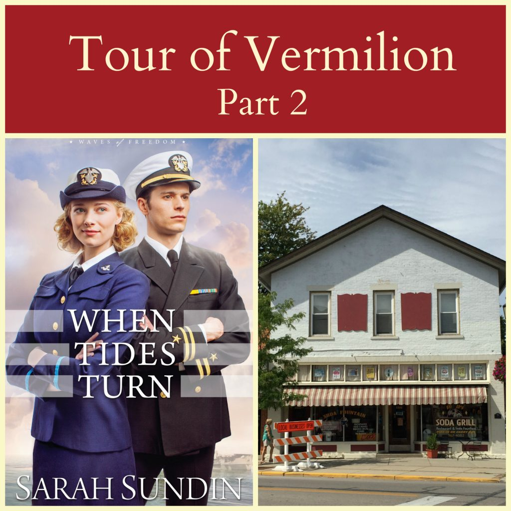 See the sights in Vermilion, Ohio from When Tides Turn by Sarah Sundin!
