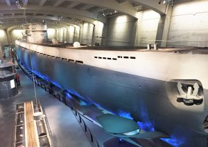 U-505, Chicago Museum of Science and Industry (Photo: Sarah Sundin, September 2016)