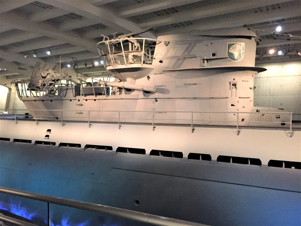Conning tower of U-505, Chicago Museum of Science and Industry (Photo: Sarah Sundin, September 2016)