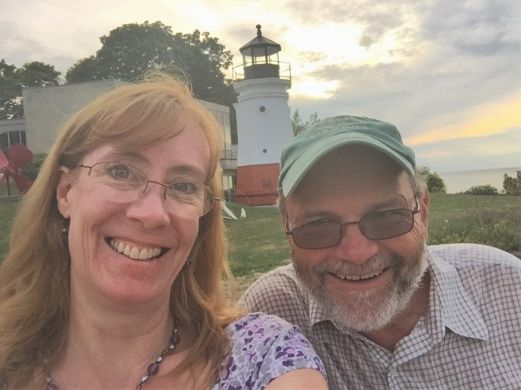 Dave & Sarah Sundin, Vermilion, Ohio (Photo: Sarah Sundin, August 2016)