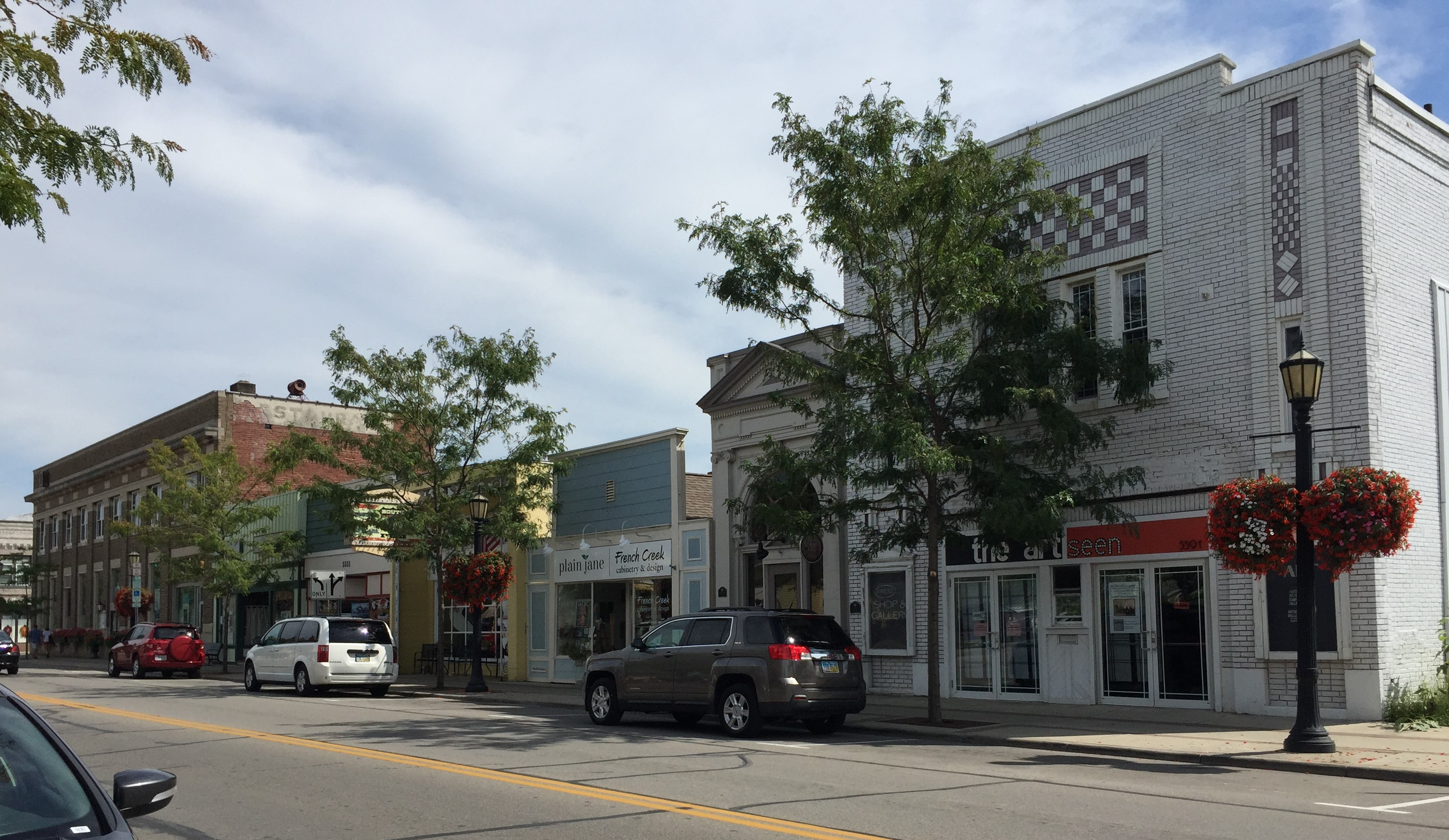 Liberty Avenue, Vermilion, Ohio (Photo: Sarah Sundin, August 2016)