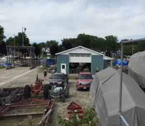 Boatyard in Vermilion, Ohio (Photo: Sarah Sundin, August 2016)