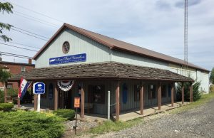 Train depot, visitor center, and art gallery, Vermilion, Ohio (Photo: Sarah Sundin, August 2016)