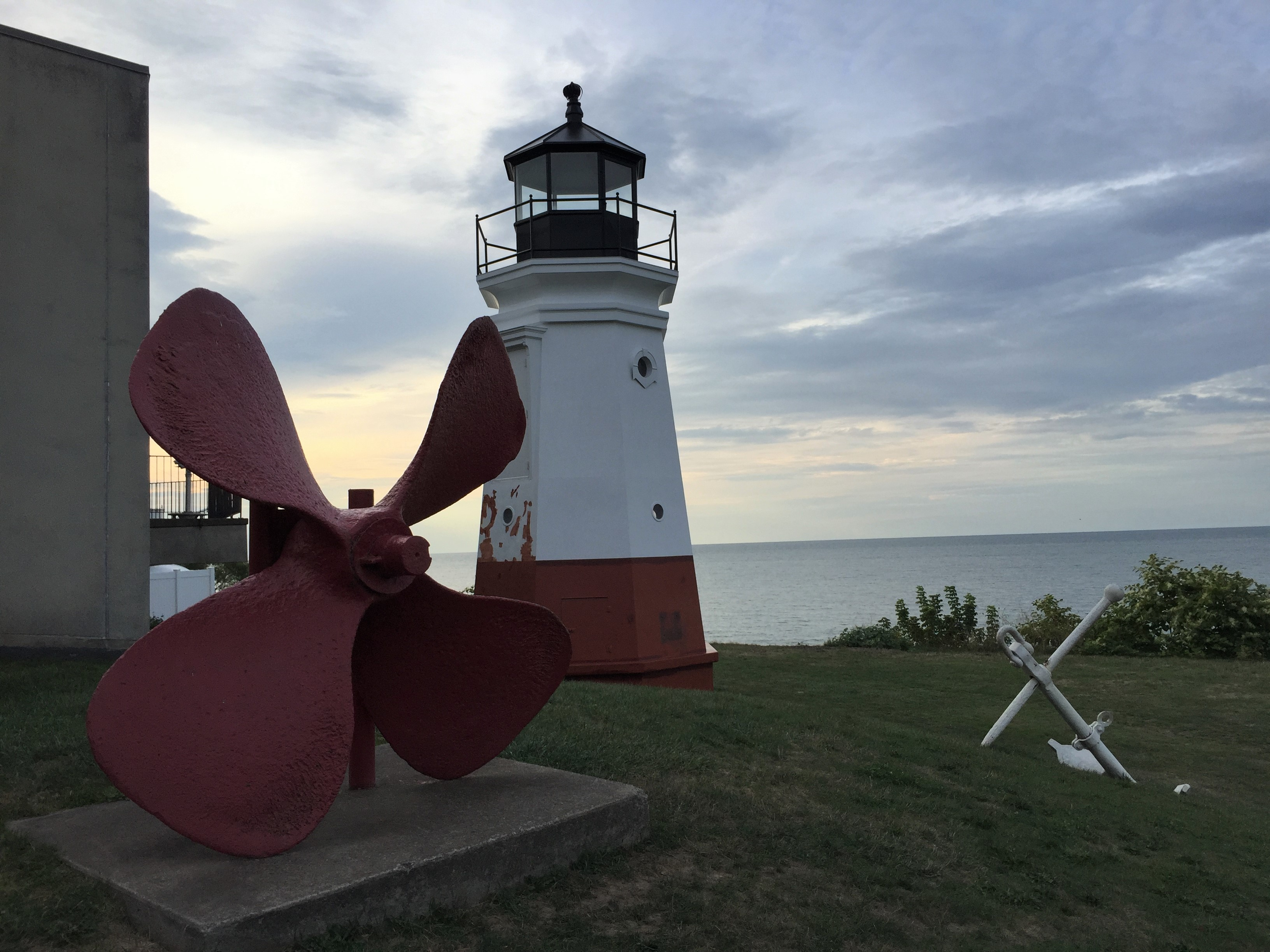 Vermilion Lighthouse, Vermilion, Ohio (Photo: Sarah Sundin, August 2016)