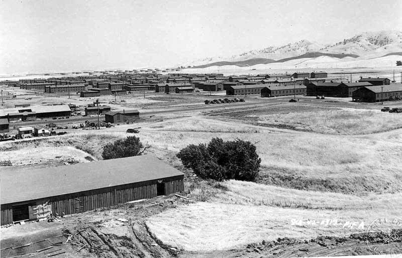 Camp Stoneman, Pittsburg, CA, June 1942 (US National Archives)