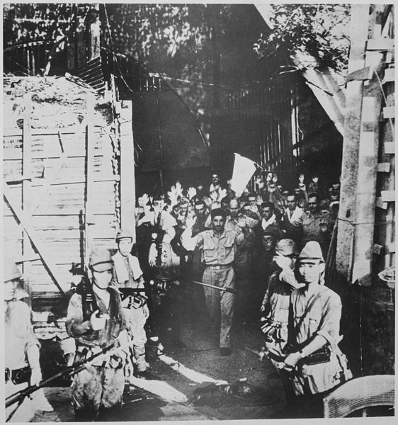 Surrender of American troops at Corregidor, Philippine Islands, 6 May 1942