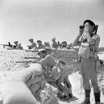 British troops near El Alamein, Egypt, 17 Jul 1942 (Imperial War Museum)
