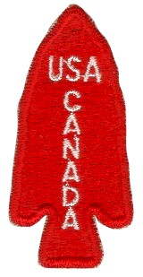 Shoulder patch of the First Special Service Force during WWII