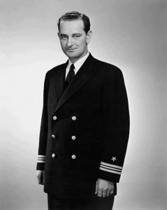Lt. Cdr. Lyndon B. Johnson, 1942 (Public domain via LBJ Presidential Library)