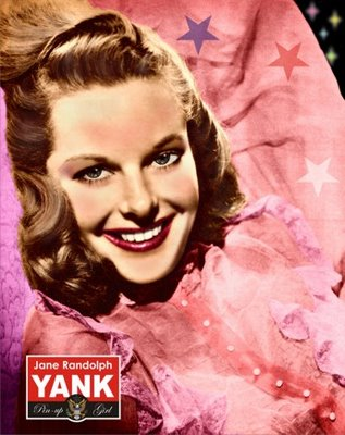 Jane Randolph on the cover of the debut issue of Yank, the Army Weekly, June 17, 1942 (US Army).