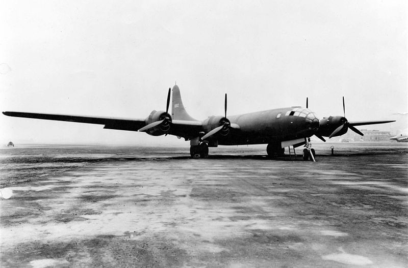 Boeing XB-29, 1942 (US Air Force photo)