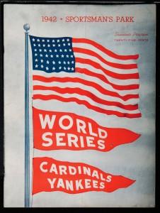 1942 World Series program (National World War II Museum)