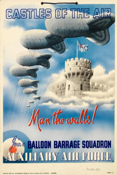 British poster, WWII (Imperial War Museum)