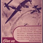 US poster urging more P-38 Lightning production, WWII