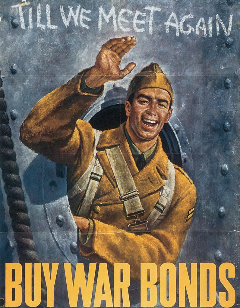 US War Bond poster, 1942