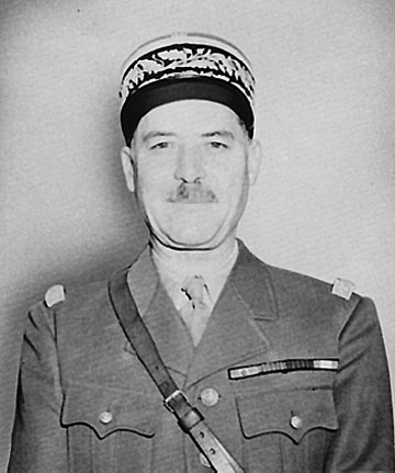 Gen. Alphonse Juin, commander-in-chief of French forces in North Africa
