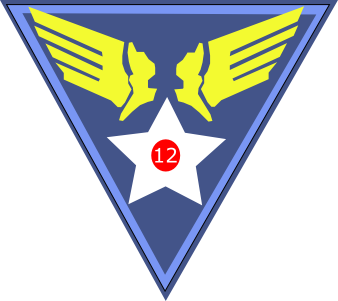 Patch of the US Twelfth Air Force