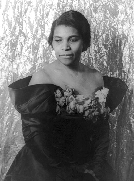Marian Anderson, 1940 (Library of Congress)