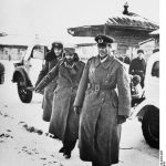 German Field Marshal Friedrich Paulus, Maj. Gen. Arthur Schmidt, and Col. Wilhelm Adam after their surrender, Stalingrad, Russia, 31 Jan 1943 (German Federal Archive Bild 183-F0316-0204-005)