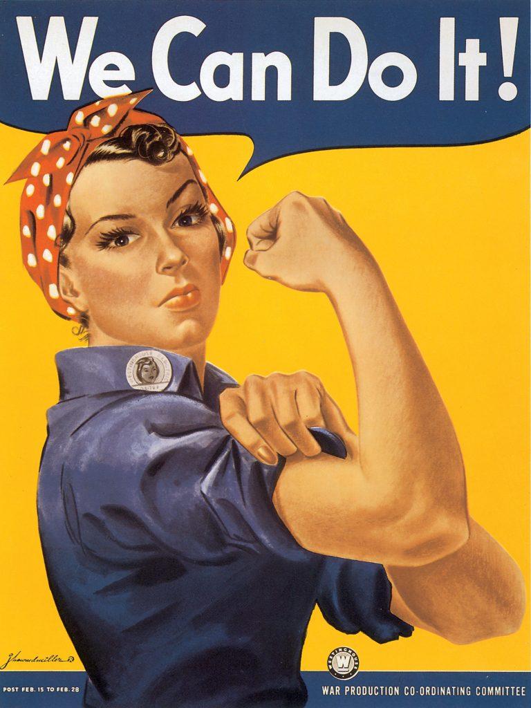 US poster by J. Howard Miller, 1943